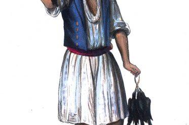 Pardilhó, Auguste Wahlen, Geflügelhändler, Portugal, Trachten, Tracht, Kleidung