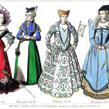 Renaissance, Spanische Hofmode im 16. Jh.