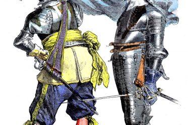 Soldaten, Militär, Krieger, Kostüme, Barock, Deutschland, 17. Jahrhundert, dreissigjähriger Krieg,