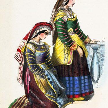 Frauen von Miranda de Ebro. Spanien.