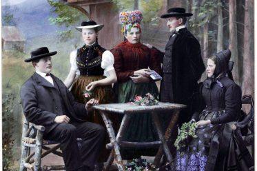 Schwarzwald, Trachten, Altsimonswald, Waldkirch, Emmendingen, Baden-Württemberg, Deutschland, Simonswald,