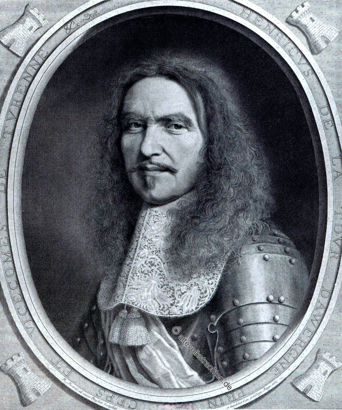 Turenne, Generalfeldmarschall, Marschall, Militär, Soldat, barock, dreissigjähriger Krieg,