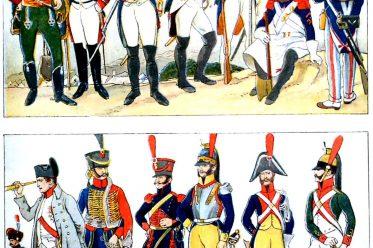 Uniformen, Frankreich, Empire, Napoleon, Revolution, Kostüme, Militär