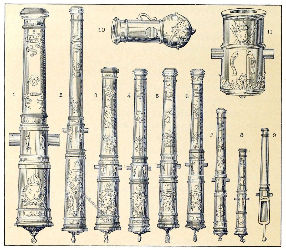 Kanonenarten, Armee, 17. Jahrhundert, Militär, Frankreich, Barock,