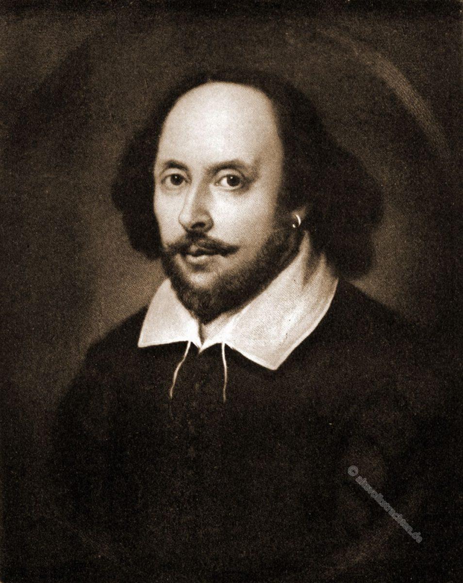 William Shakespeare war ein englischer Dichter, Dramatiker und Schauspieler.