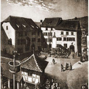 Die Heilbäder zu Baden im Aargau.