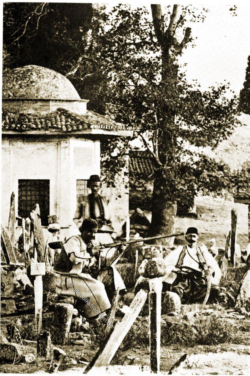 Trachten, Albaner, Muslim, Salonica, Thessaloniki, Griechenland, Lucy Mary Jane Garnett