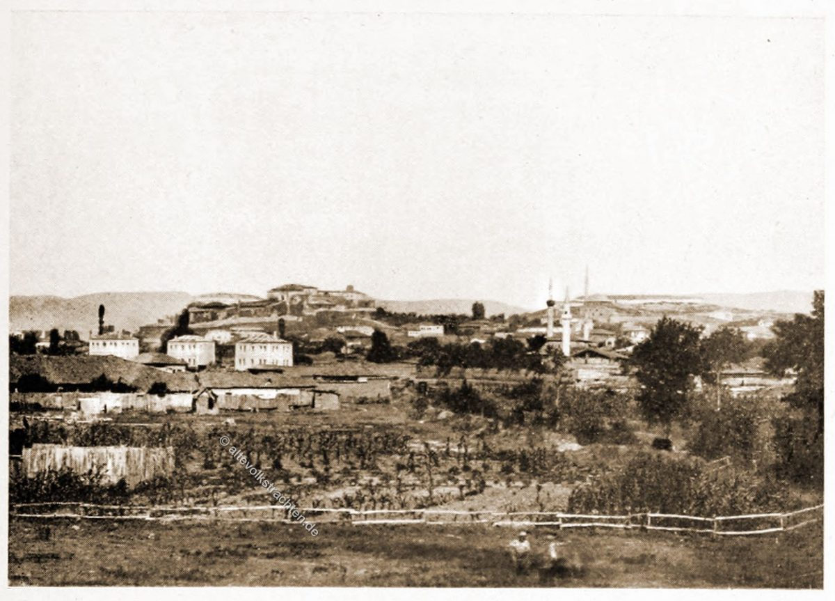 Uskup, Skopje, Nordmazedonien, Balkan, Historische Ansicht