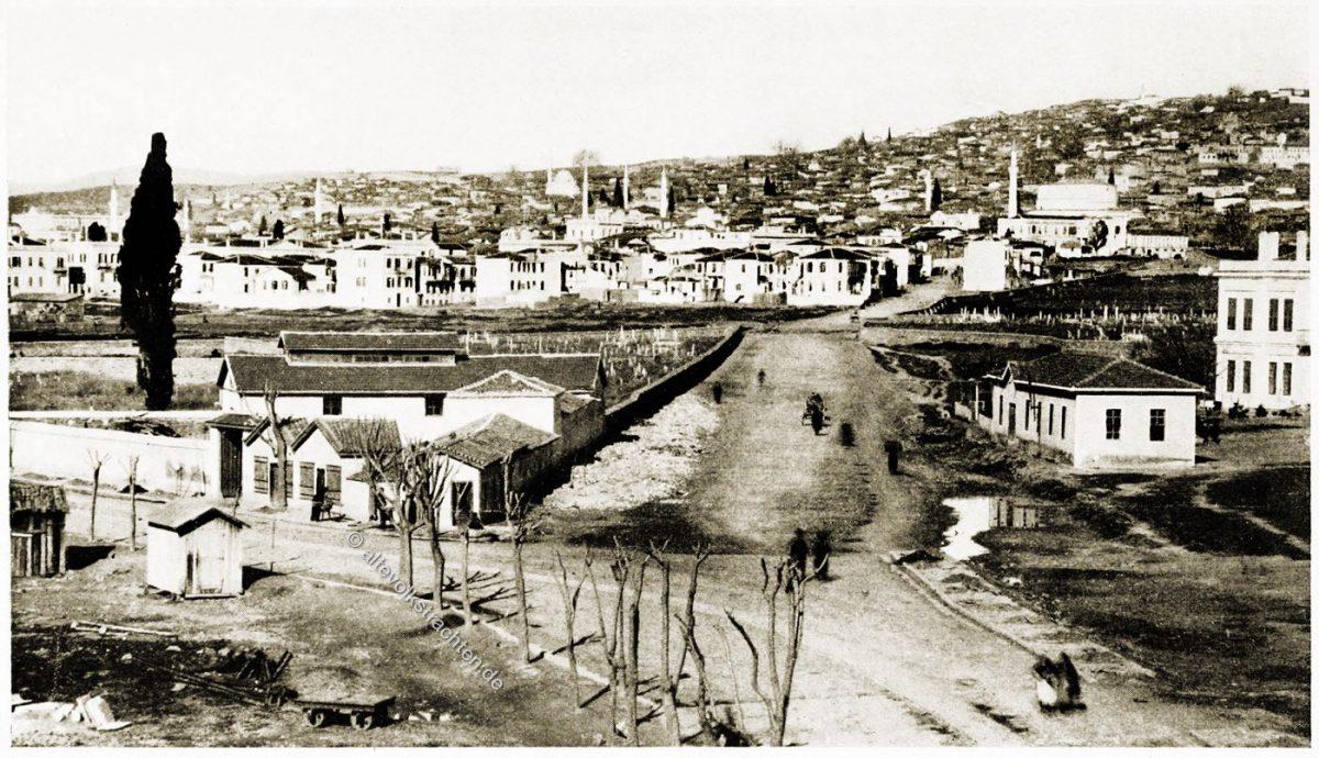Salonica, Thessaloniki, Griechenland, Historische Stadtansicht, Balkan, Lucy Mary Jane Garnett