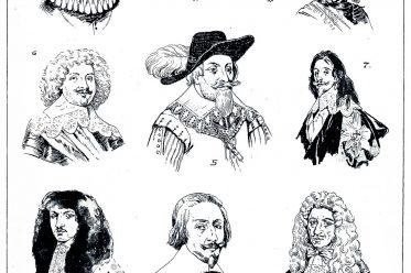 Modegeschichte, Haarmode, Bartmoden, Barock, Kostümgeschichte