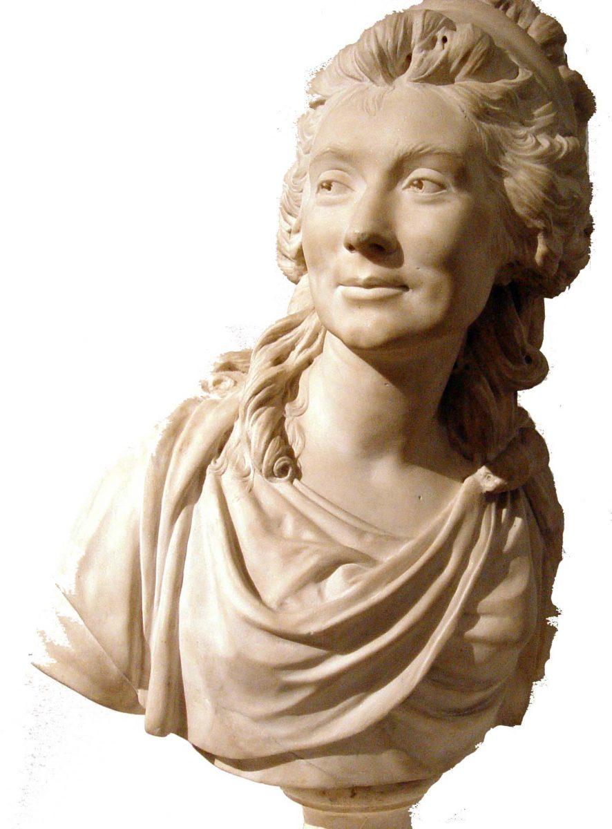 Comtesse de Sabran, Rokoko, Jean-Antoine Houdon, Bildhauer, Frankreich