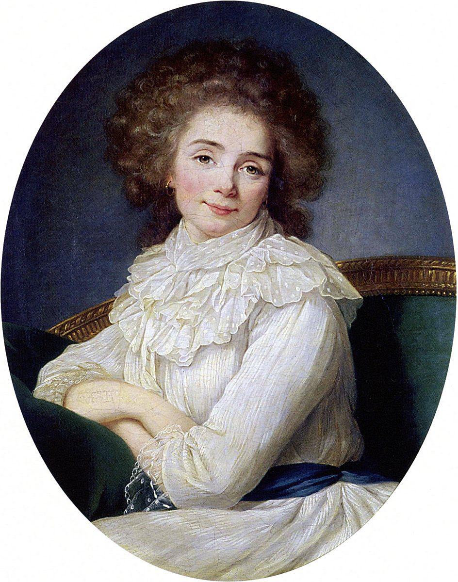 Madame la Marquise de Sabran, 1791.