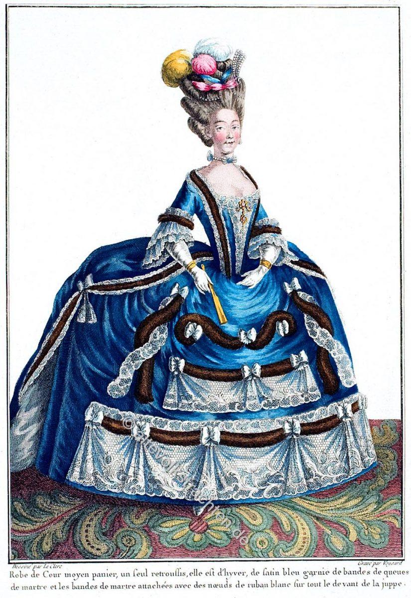 Hofkleidung, Reifrock, Rokoko, Mode, Kostüm, Prinzessin von Savoyen