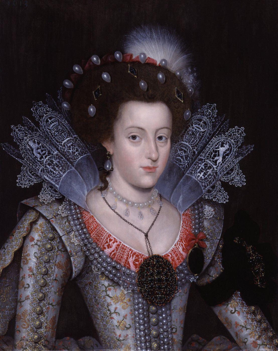 Prinzessin Elisabeth, Stuart, Königin, Böhmen, Winterkönigin, Barock, Kostüm,