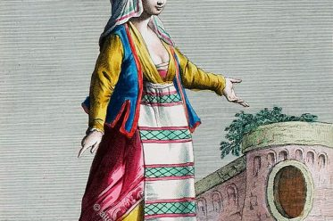 Gaeta, Femme, Donna, Italien, Trachten, Costume
