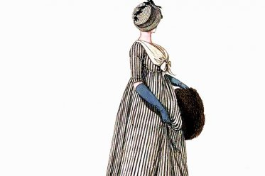 Regency, Fashion, costumes, Mourning dresses, Gallery of Fashion,