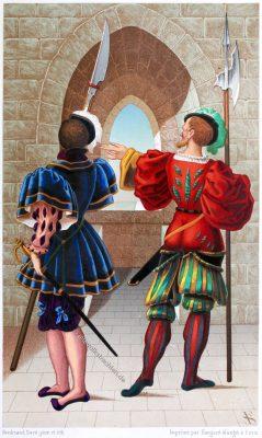 Hellebardist, Soldat, Renaissance, Partisane, Pertuisanier