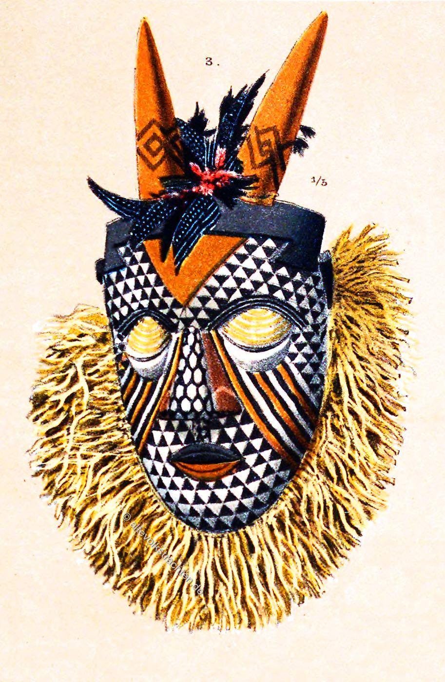 Dänemark Masken