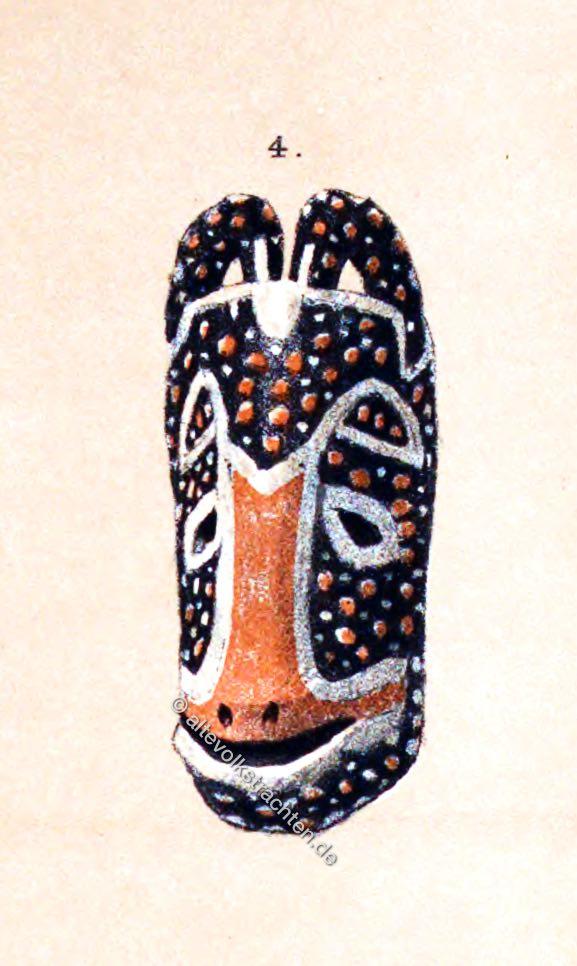 Hörnermaske, Maske, Kamerun, Afrika,