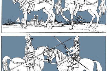 Militär, Reiter, Barock, Kostümgeschichte, Arkebusiere, Karabiniere, Dragoner, Kürassiere, Lanzenreiter
