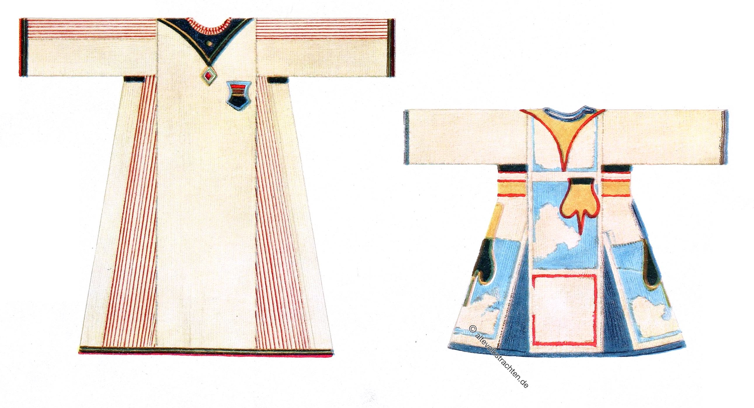 Max Tilke, Kostüm, Kleidung, Kriegerbluse, Omdurman, Sudan, Afrika.
