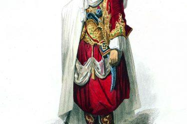 Algerien, Araber, Stammesführer, Trachten, Kleidung