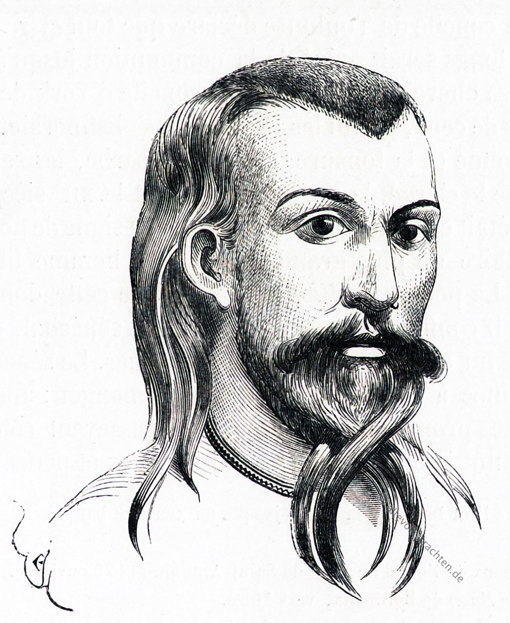 Frisur Haar Und Barttracht Im 12 Jahrhundert