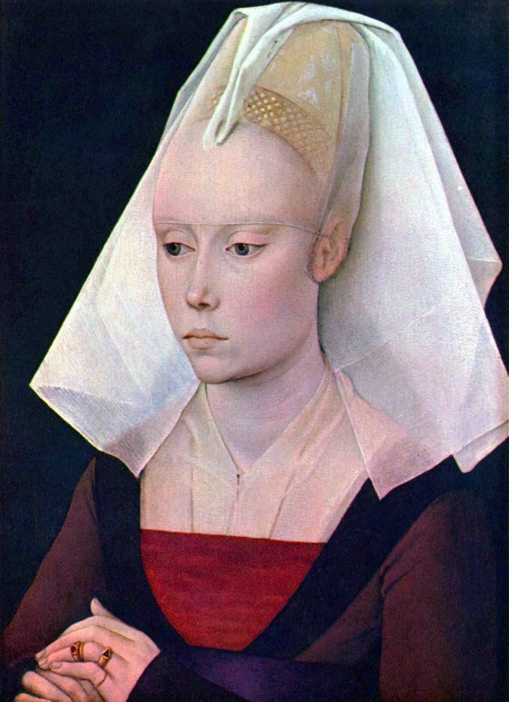 Rogier van der Weyden, burgundische Haube
