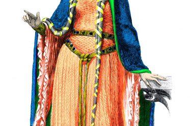 Mode, Mittelalter, Haarmode, Frisur, Adel, 12. Jahrhundert,