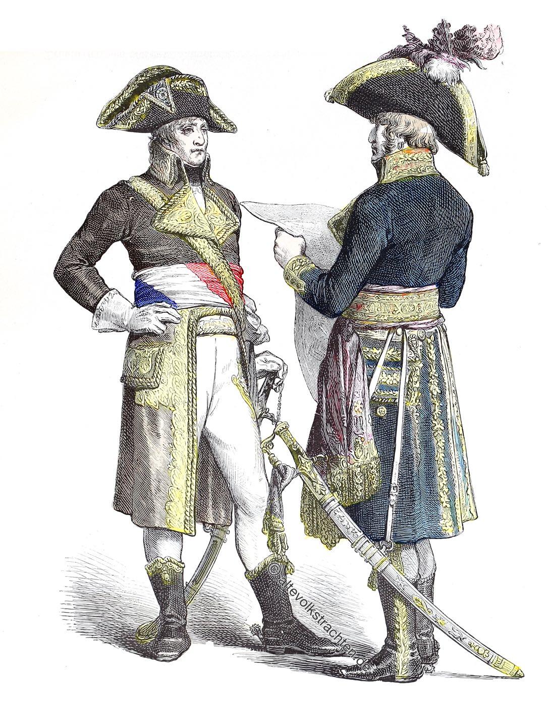 Münchener Bilderbogen, Militär, Direktorium, Generäle, Frankreich,