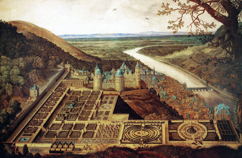 Heidelberg, Hortus Palatinus, Renaissance, Garten, Gartenanlage, Lustgarten