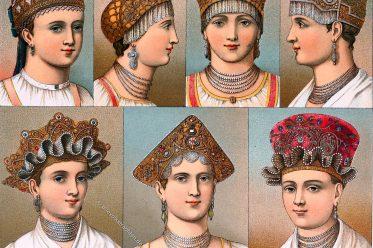 Kopftrachten, Hauben, Volkstracht, Kopfbedeckung, Hüte