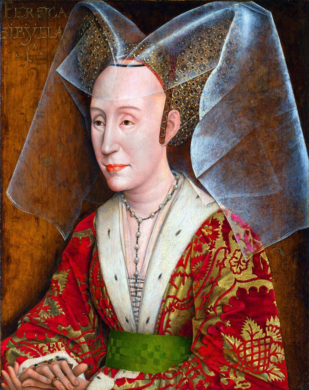 Isabella, Herzogin, Burgund, Hennin,
