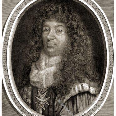Jean-Jacques de Mesmes, comte d'Avaux als Präsident à mortier.