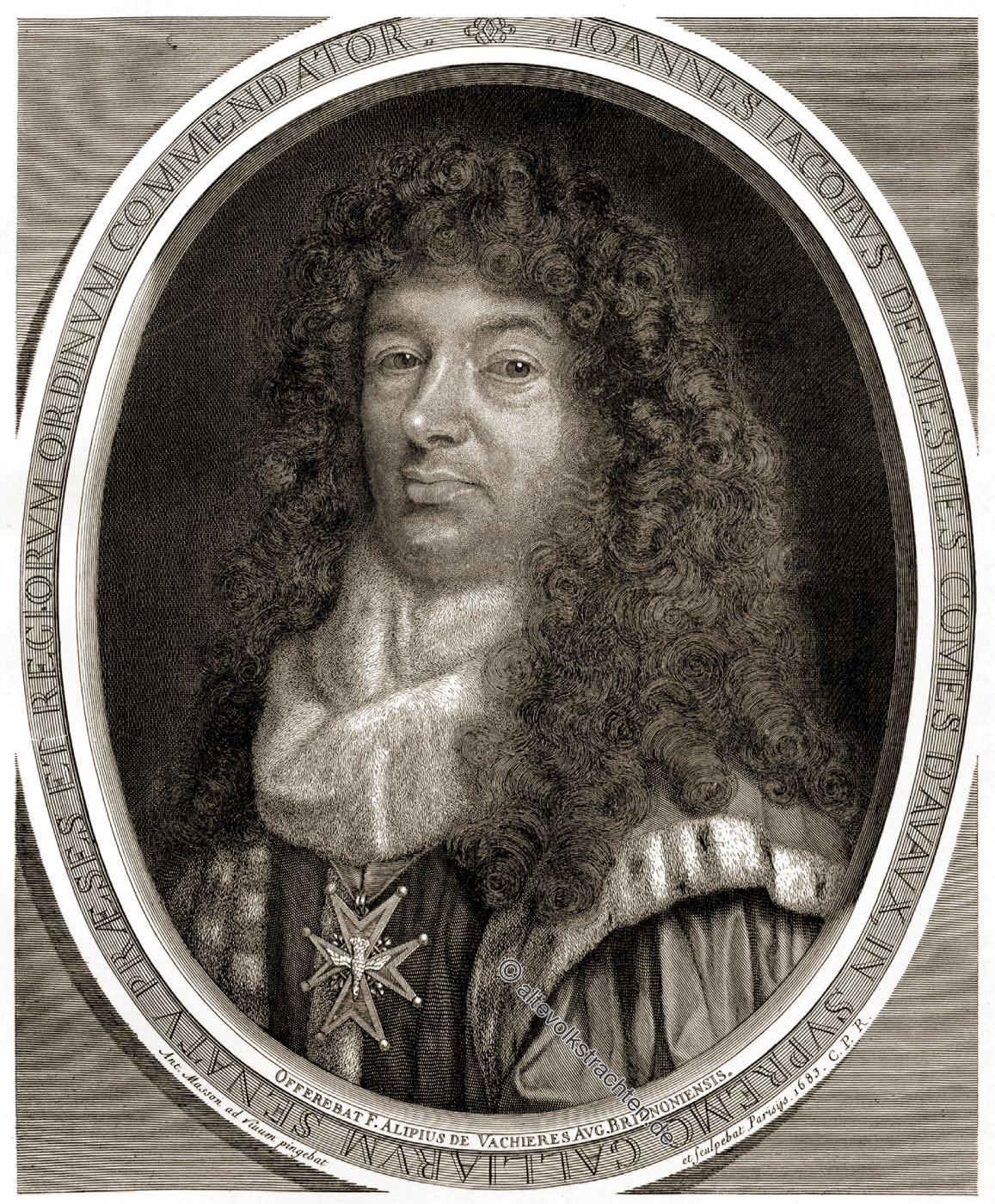 Jean-Jacques de Mesmes, Antoine Masson, Portrait, Adel, Frankreich, Barock