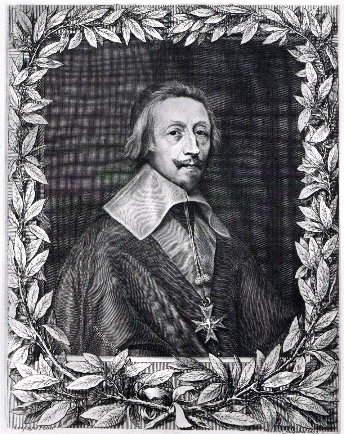 Kardinal, Richelieu, Frankreich, Barock