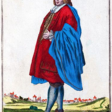 Ein Kaufmann aus Nürnberg um 1701.