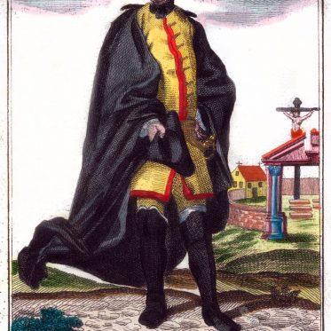 Leichenprediger. Nürnberger Einspänner im 17. Jahrhundert.