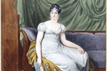 Jacques Augustin, Miniatur, Comtesse de Montalivet, Empire, costume