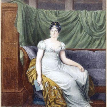 Adélaïde de Saint-Germain,  comtesse de Montalivet um 1820.