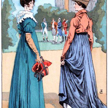Ein Spaziergang durch den Park Malmaison 1804.
