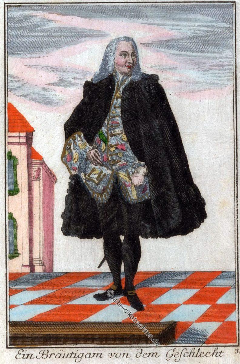 Nürnberg, Bräutigam, Barock, Kostüm, Mode,