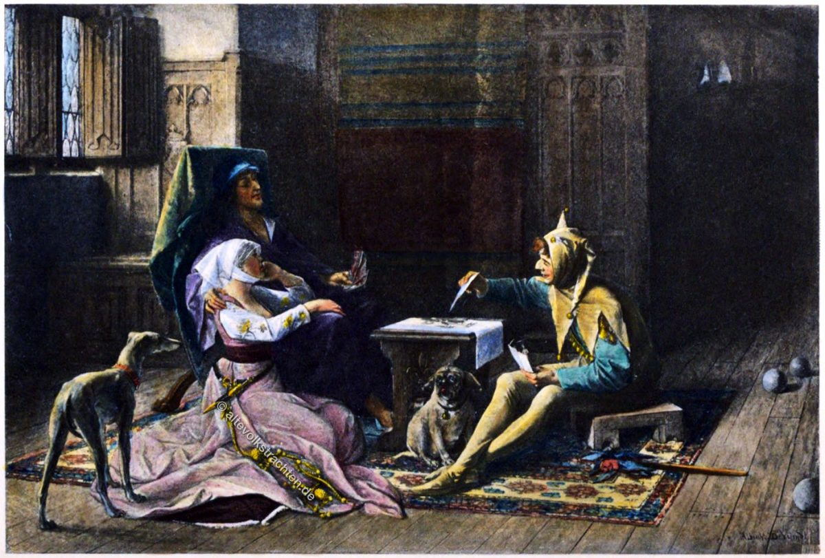 Odette de Champdivers, Karl VI., Mittelalter, Kostüme, Kleidung, Geschichte, Frankreich, Gotik