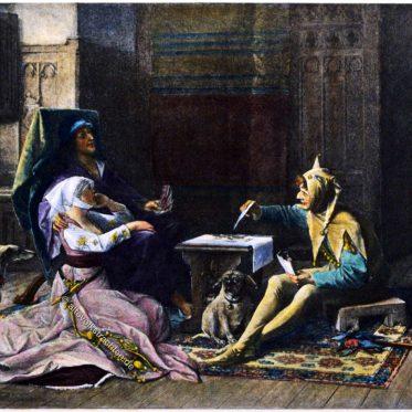 Odette de Champdivers und König Karl VI. von Frankreich