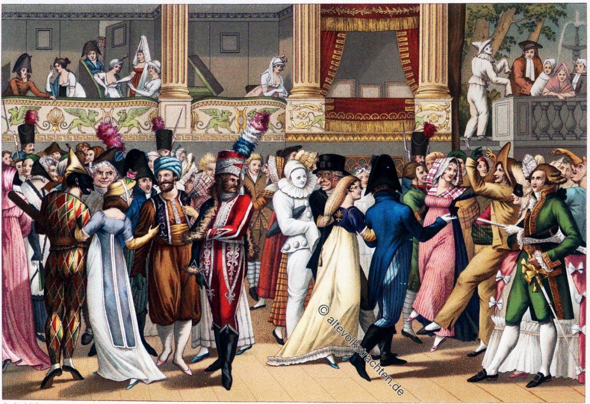 Pariser Opernball, Bosio, Paris, Empire, Mode