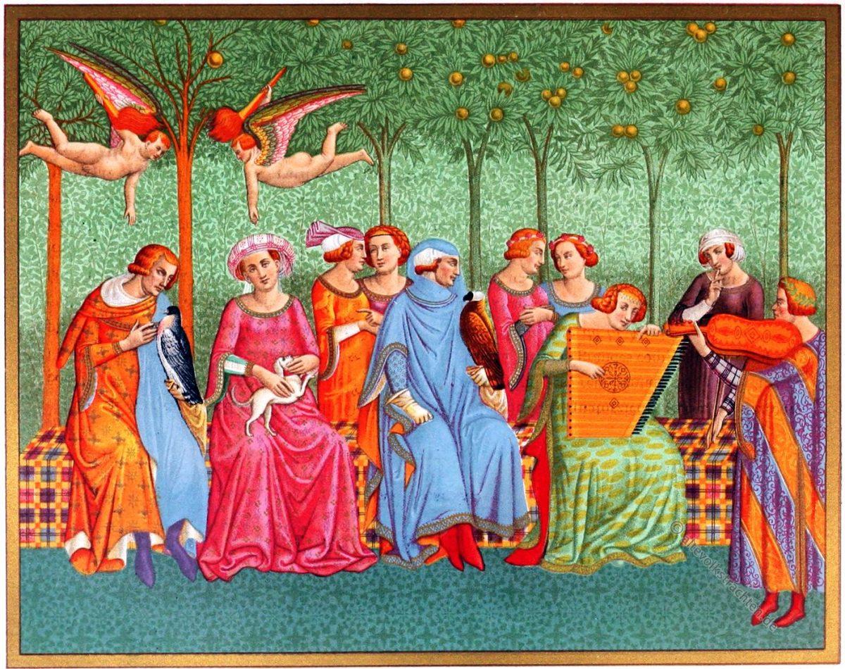 Lebenstraum, Fresko, Renaissance, Orcagna, Italien