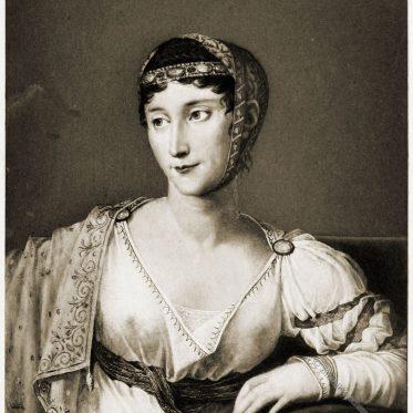 """Pauline Bonaparte im Volksmund als """"Paoletta"""" bekannt."""
