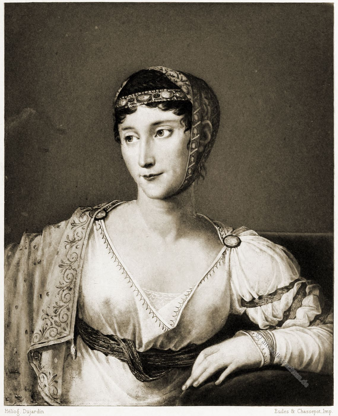 Pauline Bonaparte, Prinzessin Borghese, Empire, Kostüm, Mode, Portrait