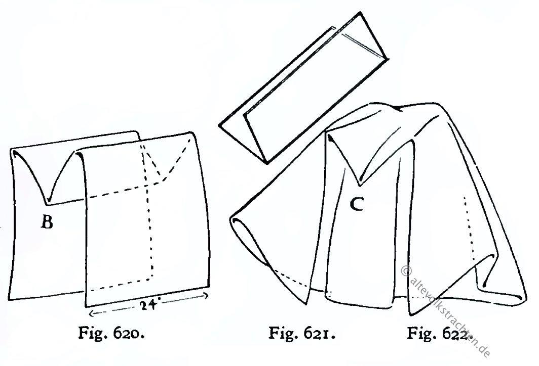 Faltungen, Schleier, Hennin, 15. Jahrhundert