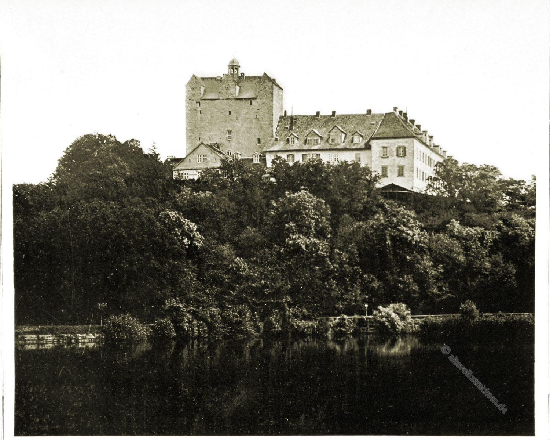 Schloss, Ballenstedt, Askanier, Sachsen-Anhalt